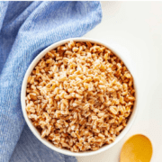 bowl of cooked farro