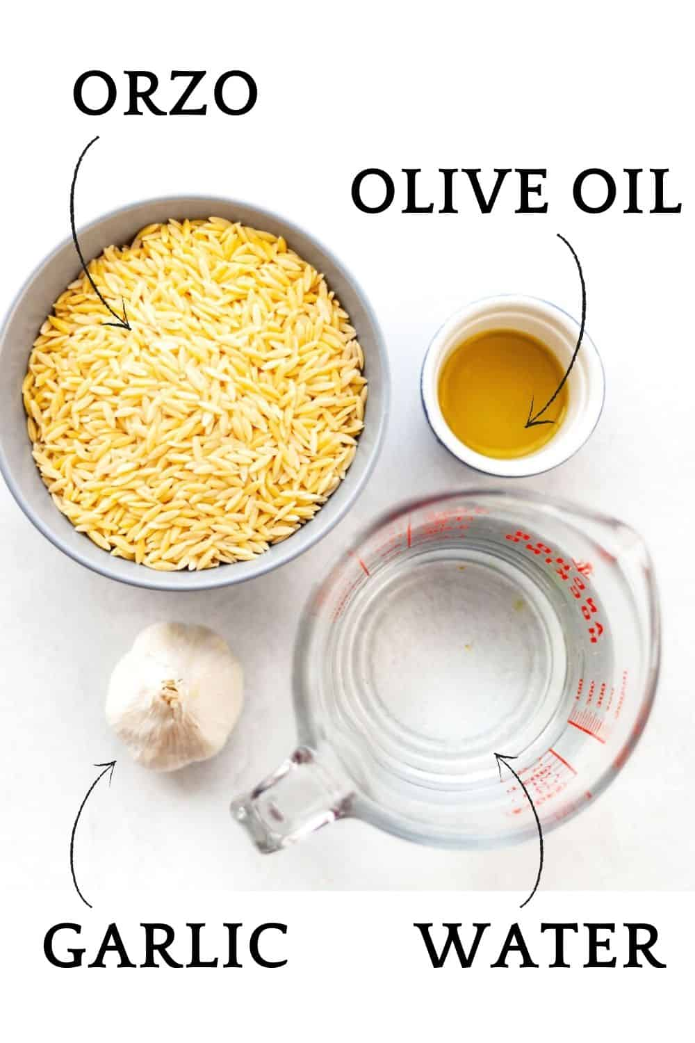 ingredients needed to cook orzo