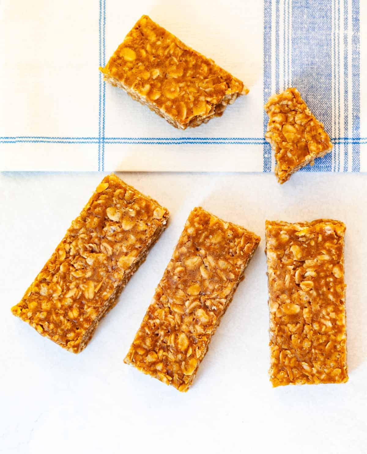 sunflower butter granola bars