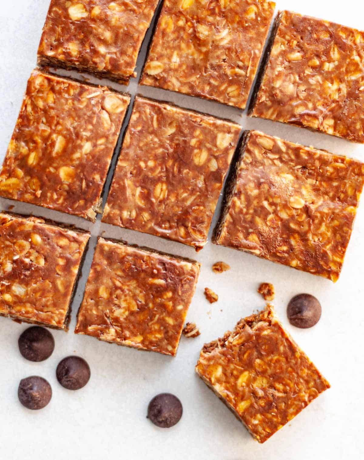 homemade nut-free granola bars