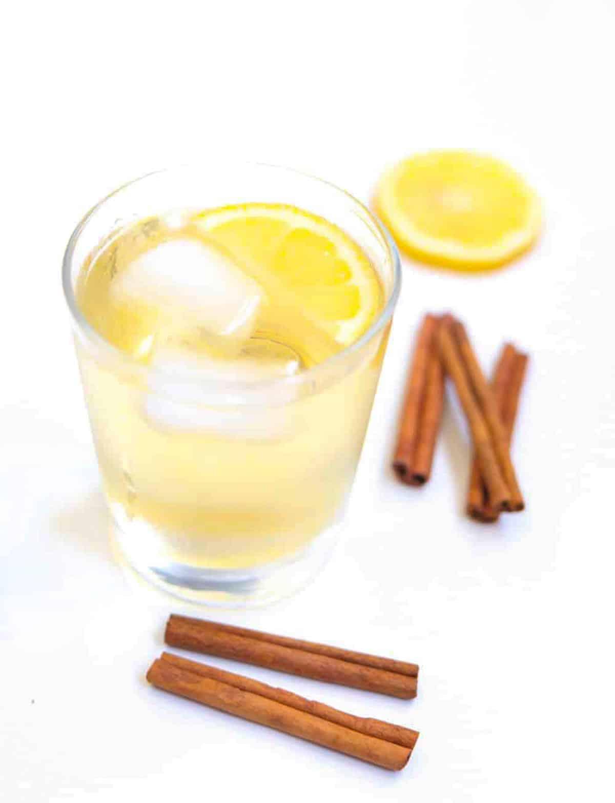 iced cinnamon tea