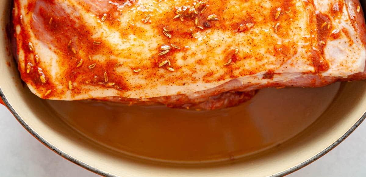 pork shoulder in apple cider